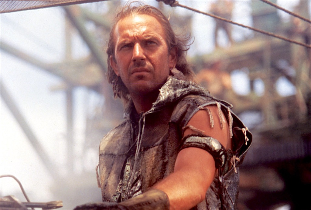 WATERWORLD, Kevin Costner, 1995. (c)Universal Pictures/ Courtesy: Everett Collection.