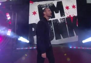 CM Punk Returns at AEW Rampage