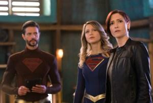 Jason Beer, Melissa Benoist e Sheller Lee nella sesta stagione di Super Girl