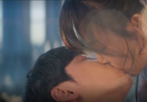 You Are My Spring, Da Jeong and Young Do kiss