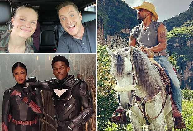 TV Stars Back at Work: On-Set Photos From #OneChicago, NCIS, Batwoman, New Amsterdam, Resident andMore