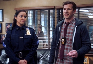 Brooklyn Nine-Nine - Jake and Amy in Season 8, Episode 4