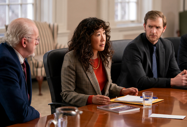 Sandra Oh in 'The Chair' on Netflix