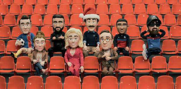 Ted Lasso Christmas Episode Claymation