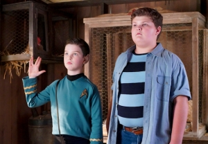 Young Sheldon and Billy Sparks