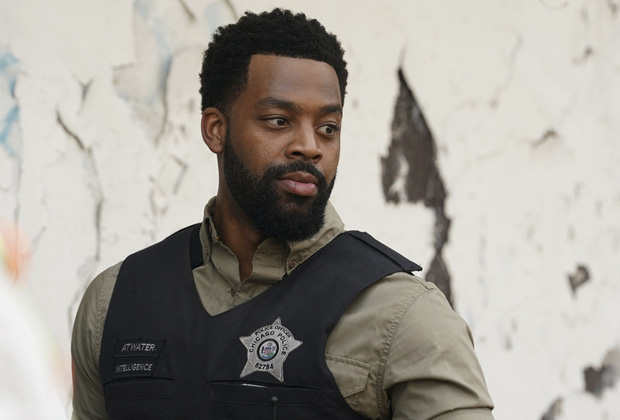 LaRoyce Hawkins in Chicago P.D. Season 9