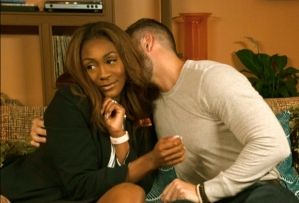 Tyler Perry's Sistas, Danni and Preston make out