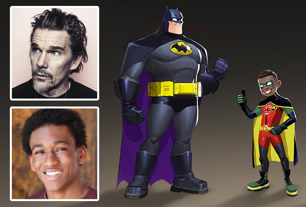 Batwheels, Ethan Hawke and AJ Hudson