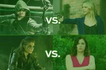 The CW's Best Show Ever Tournament: Arrow vs. Ringer! The 100 vs. Crazy Ex!