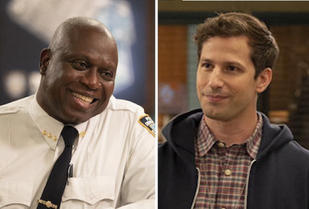 Andre Braugher and Andy Samberg in 'Brooklyn Nine-Nine' Series Finale