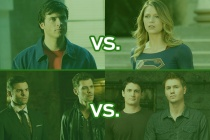 The CW's Best Show Ever Tournament: Supergirl vs. Smallville, OTH vs. Originals Closes Out Sweet 16 Round!