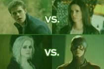 The CW's Best Show Ever Tournament: Vampire Diaries vs. Superman & Lois! iZombie vs. The Flash!