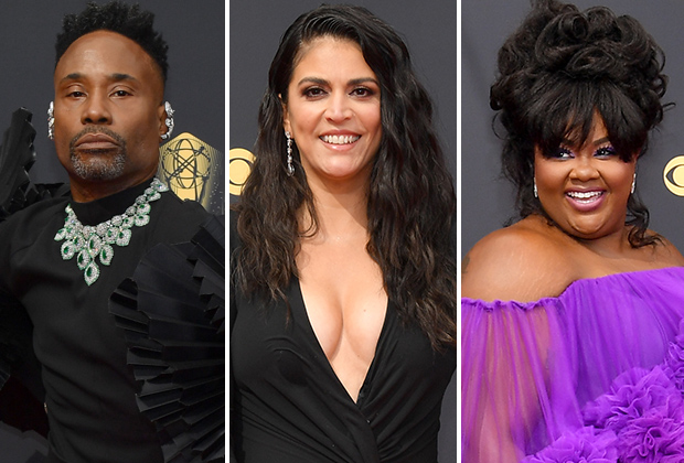 2021 Emmys Red Carpet Photos