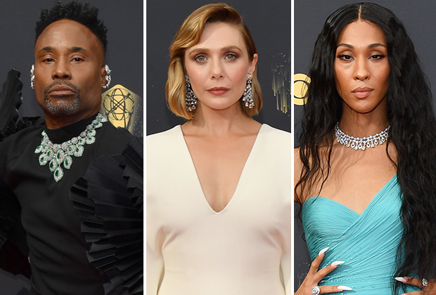 Emmys Red Carpet Photos: TV Stars From Pose, WandaVision and More