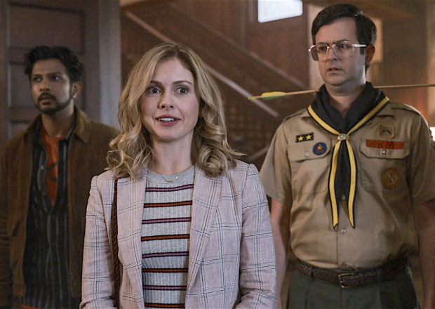 Ghosts Review CBS Comedy Rose McIver