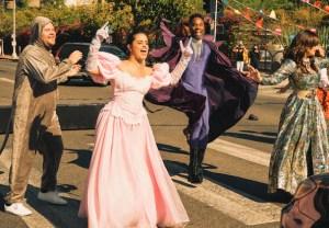 James Corden 'Cinderella' Crosswalk Musical