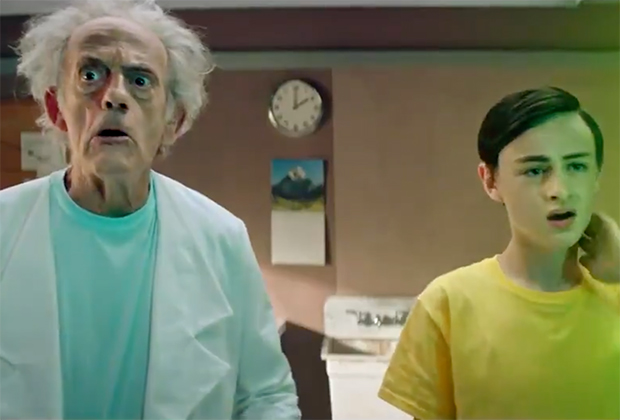 Rick And Morty Christopher Lloyd