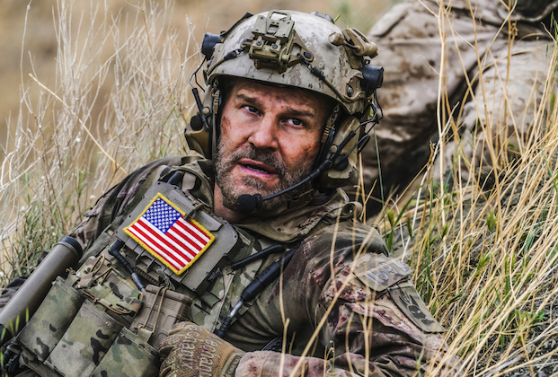 """""""One Life To Live"""" – Bravo takes a devastating hit that will change the team forever, and forces each member to make major personal decisions, on the fourth season finale of SEAL TEAM, Wednesday, May 26 (9:00-10:00 PM, ET/PT) on the CBS Television Network. Pictured: David Boreanaz as Jason Hayes. Photo: Sonja Flemming/CBS ©2021 CBS Broadcasting, Inc. All Rights Reserved."""