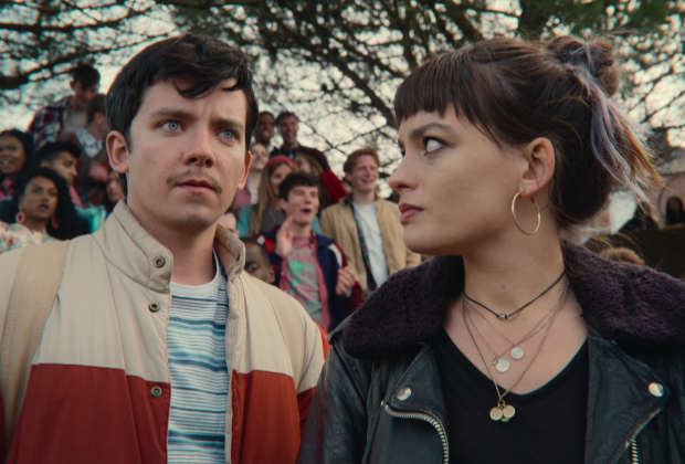 Sex Education Premiere: Asa Butterfield and [Spoiler] Dish on Their Characters' Spicy Season 3 Hook-Ups — Grade It!