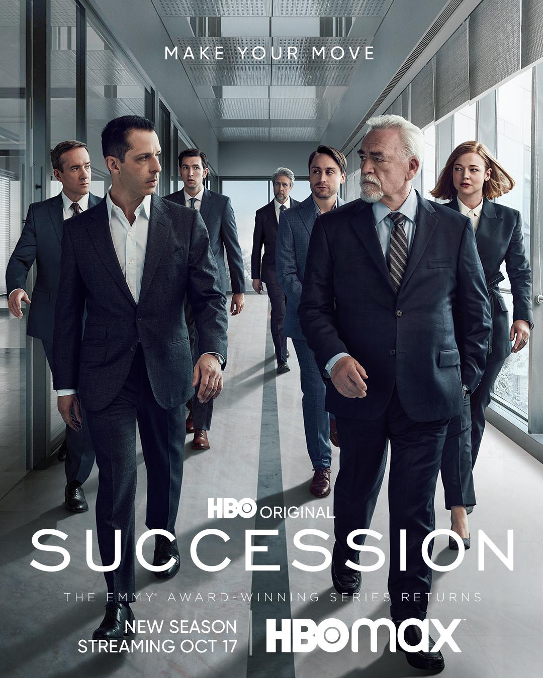 Succession Season 3 Poster