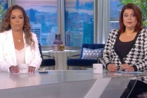 The View's Sunny Hostin, Ana Navarro Test Positive for COVID Mid-Episode, Exit Live Broadcast -- Watch