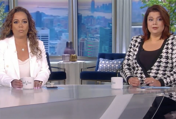 The View's Sunny Hostin, Ana Navarro Test Positive for COVID Mid-Episode, Exit Live Broadcast — Watch