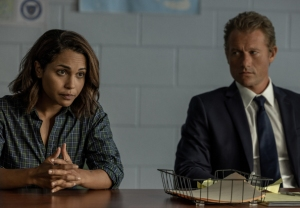 Monica Raymund and James Badge Dale in Hightown Season 2