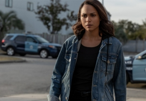 Monica Raymund in Hightown Season 2