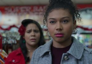 Jessica Marie Garcia and Sierra Capri in On My Block Season 4