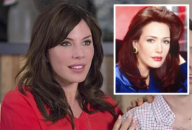 Bold and the Beautiful Recasts Taylor With Days of Our Lives Vet Krista Allen