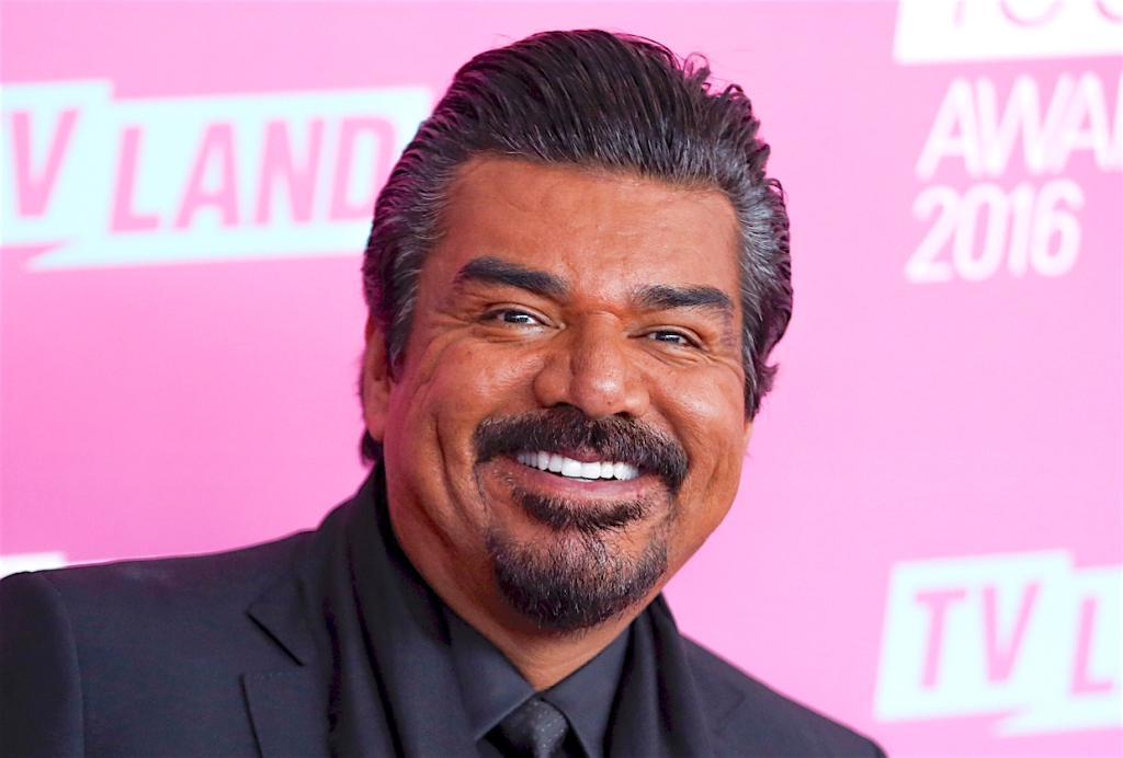 FILE - In this April 10, 2016, file photo, George Lopez arrives at the 2016 TV Land Icon Awards in Santa Monica, Calif. Lopez reportedly is facing a misdemeanor count of battery after a scuffle with a man Oct. 14, 2018, at a New Mexico restaurant. (Photo by Rich Fury/Invision/AP, File)