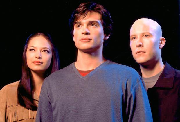 SMALLVILLE, Kristin Kreuk, Tom Welling, Michael Rosenbaum, Season 1, 2001-2011. © WB / Courtesy: Everett Collection