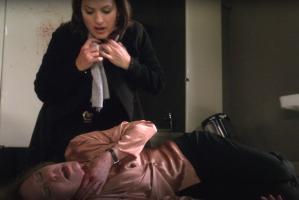 Evil season 2 sheryl leland christine lahti interview