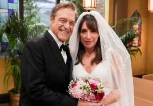 The Conners 4x04 - Dan and Louise Wedding
