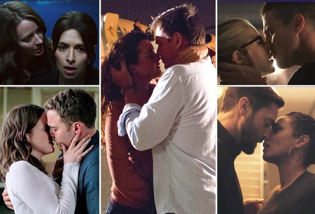 TV's 50 Longest-Awaited First Kisses From NCIS, Arrow, Evil, X-Files, Lucifer, Grey's, OUAT, Friends and More Shows